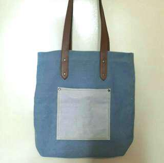 Authentic Common Thread Denim Bag