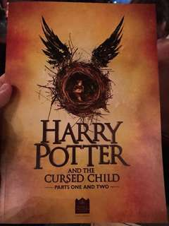Harry Potter and the Cursed Child Programme Booklet