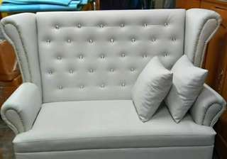 Love seat wing back