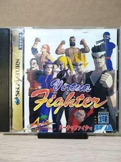 SS - Virtua Fighter (Japanese Ver.)