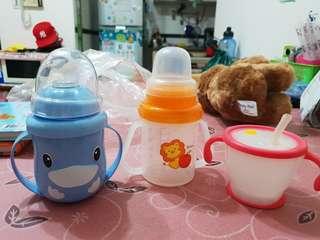 🚚 出清撿便宜~二手幼兒喝水學習杯出清 多款可選 不附奶嘴/吸管