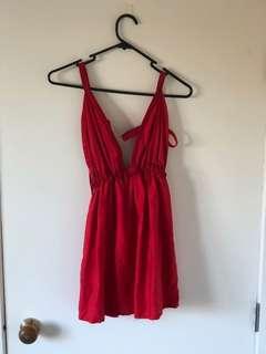 Red PARTAAAY dress
