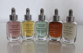 All 5 Dior Youth Capture Serums