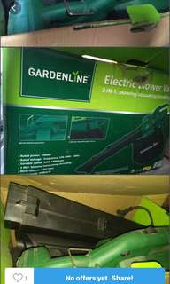 Gardeline vacuum