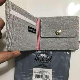 Herschel 淺灰色硬幣銀包$250
