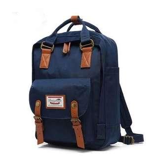 Doughnut Backpack藍色書包$230