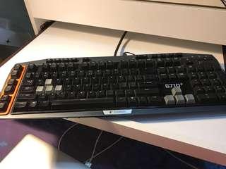 Logitech G710+ 電競 茶軸 keyboard