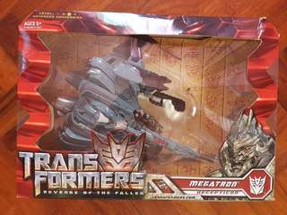 TRANSFORMERS REVENGE OF THE FALLEN MEGATRON