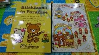 Rilakkuma note book