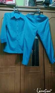 Tunik balloteli+celana