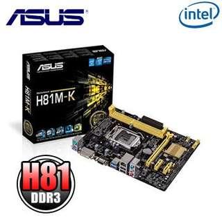 🚚 華碩主機板 Asus Mini-ITX