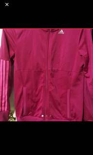 Pink Adidas Sweater (Size S)