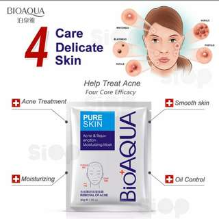 Bioaqua pure skin acne mask