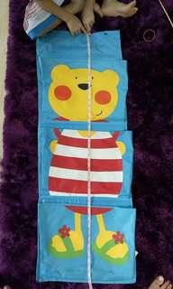 Neo Kids wall organiser bear