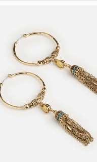 SAMANTHA WILLS Gold Jewel Hoops