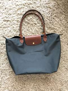 Longchamp LE PLIAGE TOTE BAG L dark Grey (mint)