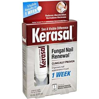 [IN-STOCK] Kerasal Fungal Nail Renewal Treatment 10ml, Restores the healthy appearance of nails discolored or damaged by nail fungus