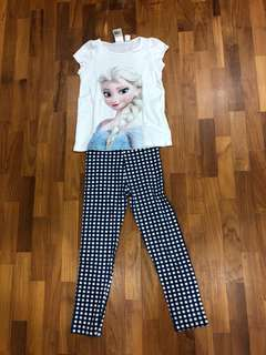 Disney Elsa and pants set