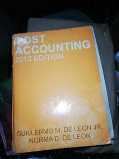 Cost Accounting 2012
