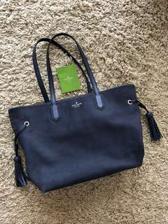 Kate Spade tote bag office bag navy