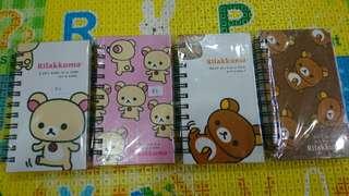 Rilakkuma notebook-