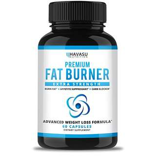 [IN-STOCK] Havasu Nutrition Extra Strength Weight Loss Pills and Appetite Suppressant - CLA, Green Tea Extract, Apple Cider Vinegar, Coral Calcium, White Kidney Beans - Fat Burner & Metabolism Boost