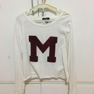 MANGO M Cropped Sweater