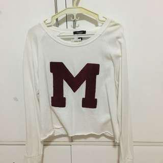 MANGO M Cropped Sweater