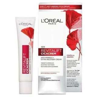 Loreal Revitalift Cica Cream