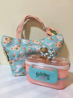 Duffy Gelatoni 食物盒+食物袋