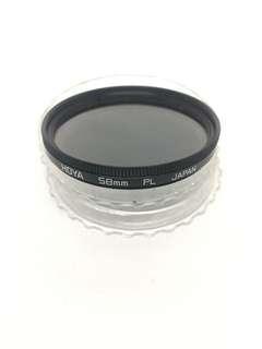 HOYA 58mm PL Lens Filter