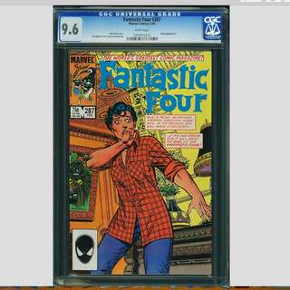 Marvel Comics Fantastic Four #287 CGC 9.6 White Pages John Byrne Copper Age Classic