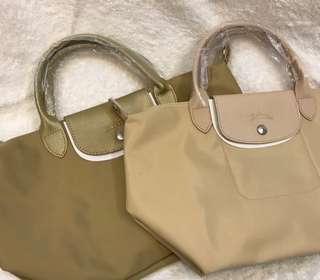 Long Champ Bag Lie Plieg medium