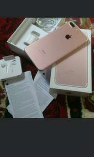 Iphone 7+ Rosegold 128GB