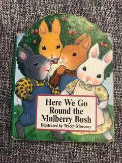 Mini board book- here we go round the mulberry bush