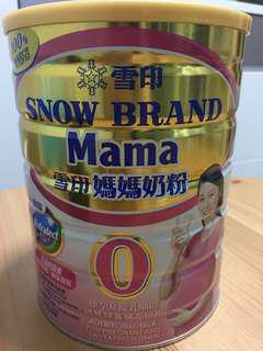 全新雪印媽媽奶粉1罐 到期日 19年