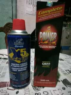 Sparko X5 All in One lube(penetrating oil) + Top 1 Power Booster