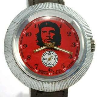 RARE POBEDA Ernesto CHE Guevara Serviced 1970 CCCP  Watch seiko casio nike levis adidas