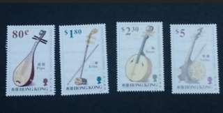 中國弦樂器 郵票