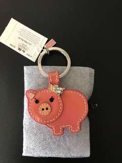Coach Pig Key Chain, keep unused