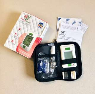 Honey Test Blood Glucose Monitor with Free Strips & Lancets (Glucometer)
