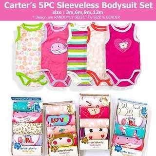 CARTER 5in1 SLEEVELESS BODYSUIT