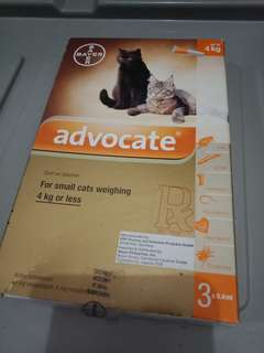 Advocate for cats up to 4 kg.