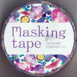 Tsutsumu Masking Tape - Colorful Food Series (Design 4)