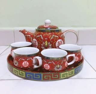 Wedding Tea Set Vintage style