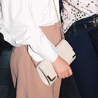 Colette Beige Clutch bag