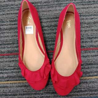 Fiona Red Doll Shoes
