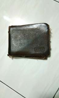 Leather Wallet for upcycling