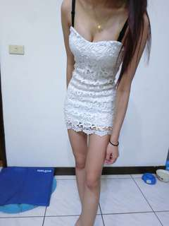 🚚 🌸禮服 夜店平口洋裝