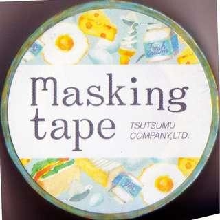 Tsutsumu Masking Tape - Colorful Food Series (Design 6)